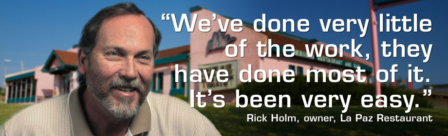 Rick Holm, La Paz